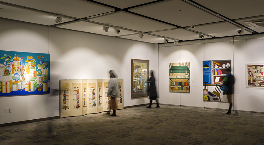 Paintings of Books, Chaekkori Exhibition
